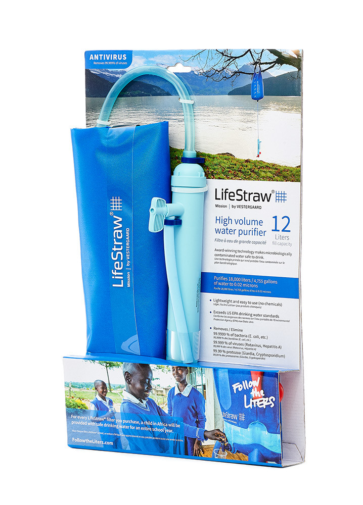 LifeStraw Mission 12L - Package View
