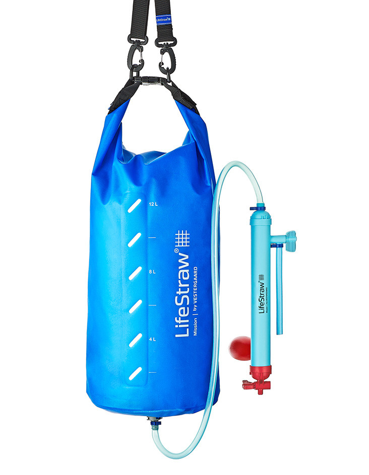 LifeStraw Mission12L - Hanging View