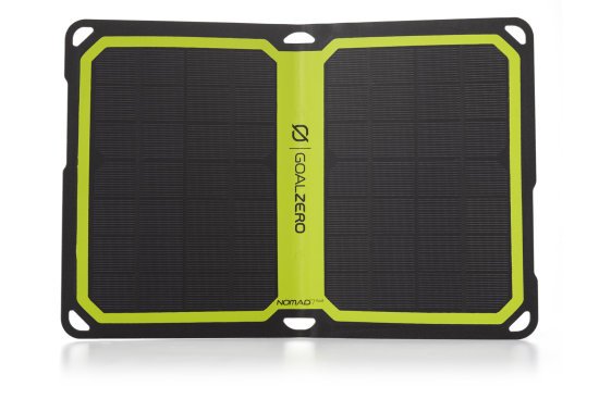 Nomad 7 Plus Solar Panel Blk 11803 - Open View