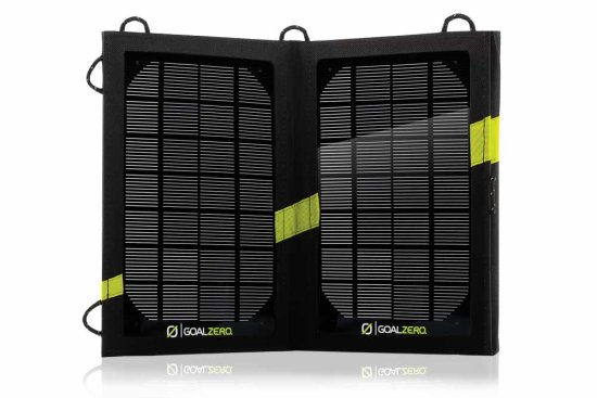 Nomad 7 Solar Panel Blk 11800 - Open View