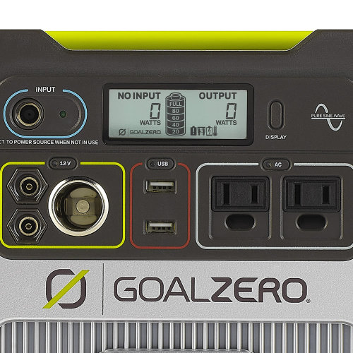 Yeti 400 Portable Power - Component View