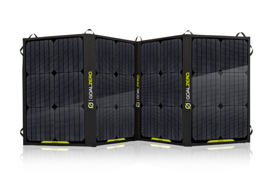 Nomad 100 Solar Panel - Open View