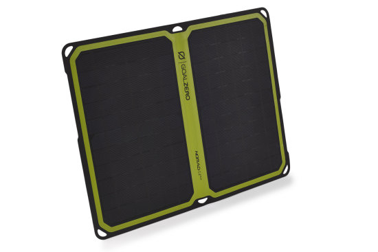 Nomad 14 Solar Panel - Front Side View