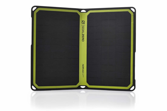 Nomad 14 Solar Panel - Front View