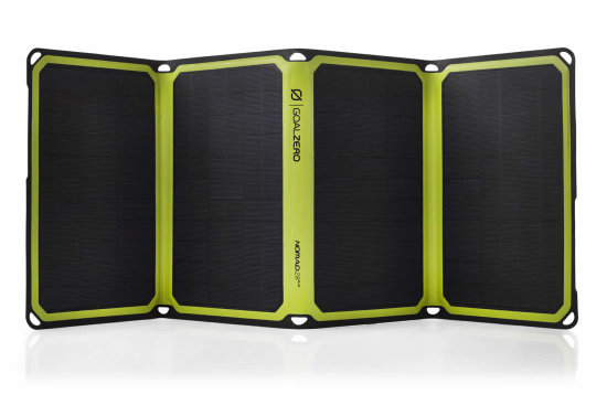 Nomad 28 Plus Solar Panel - Front View