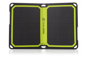 Nomad 7 Plus Solar Panel Blk - Open View