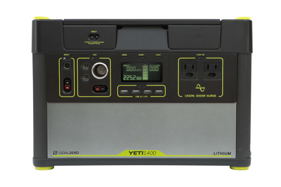 Yeti 1400 Lithium PPS - Front View
