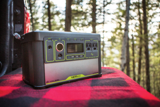 Yeti 400 Lithium Portable Power Station - Outdoors