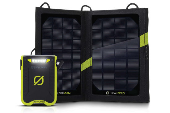 Venture 30 Solar Power Bank - Kit View