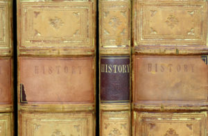 The Past is Prologue - Old History Books
