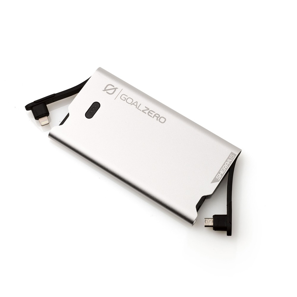 Sherpa 15 Power Bank - Side View