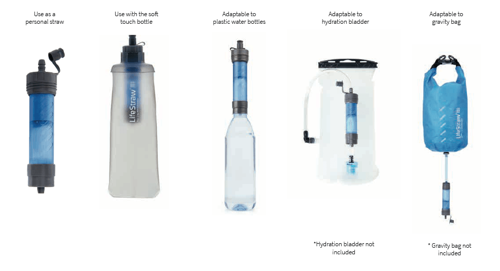 LifeStraw Flex - Usage Options