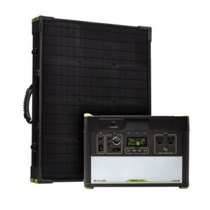 Yeti 1000 Lithium + Boulder 100 Briefcase + MPPT Solar Kit