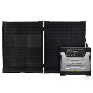 Yeti 1250 Power Station + Boulder 100 Briefcase Solar Kit