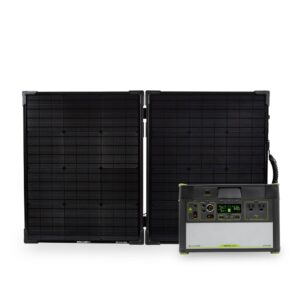 Yeti 1400 Lithium Power Station with Wifi + Boulder 100 Briefcase Solar Panel + MPPT Solar Kit