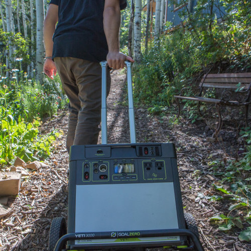 Yeti 3000 Lithium PPS - On Cart Outdoors