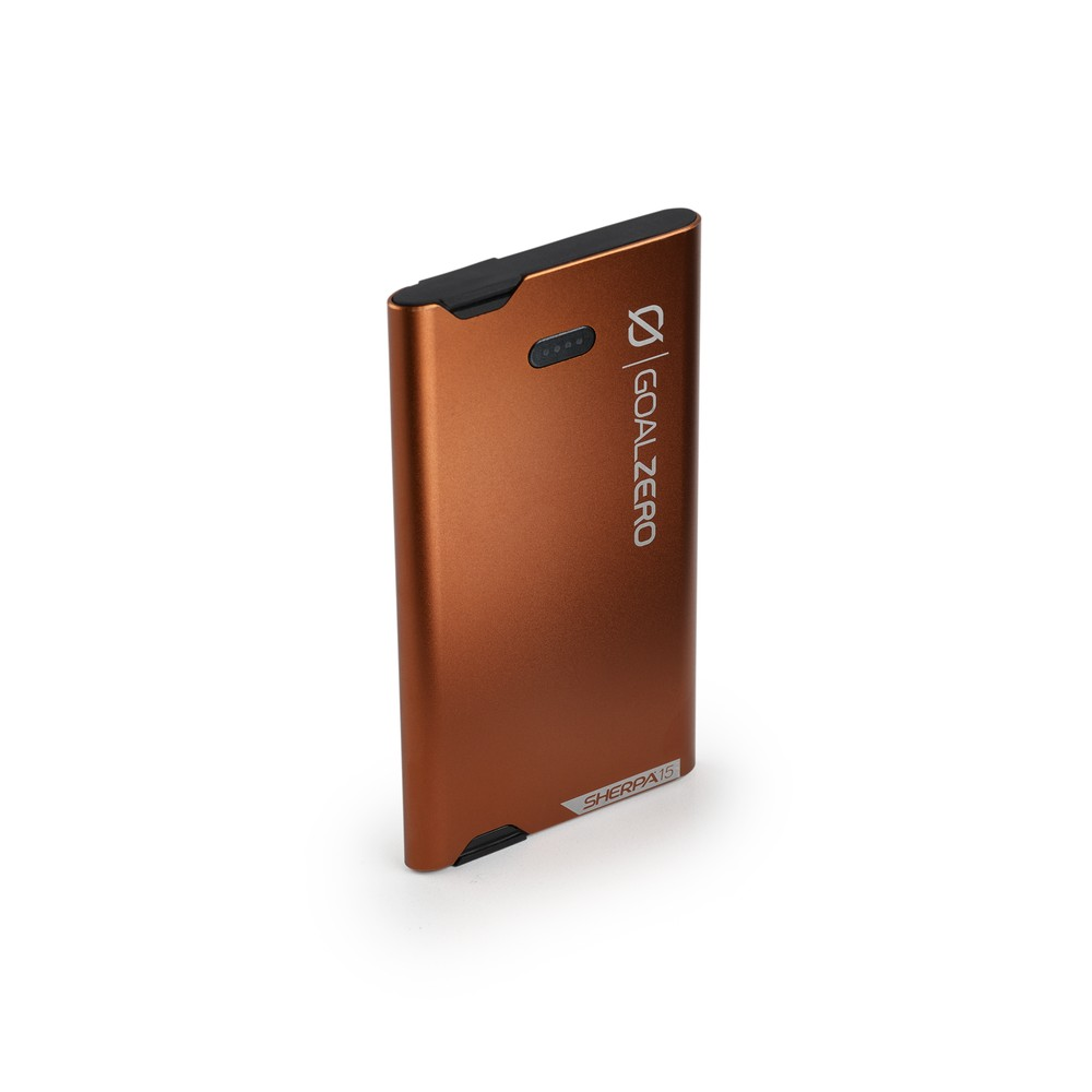 Copper Sherpa 15 Power Bank - Side View 1