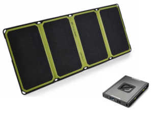 Sherpa 100AC Power Pack + Nomad 28 Plus Solar Panel