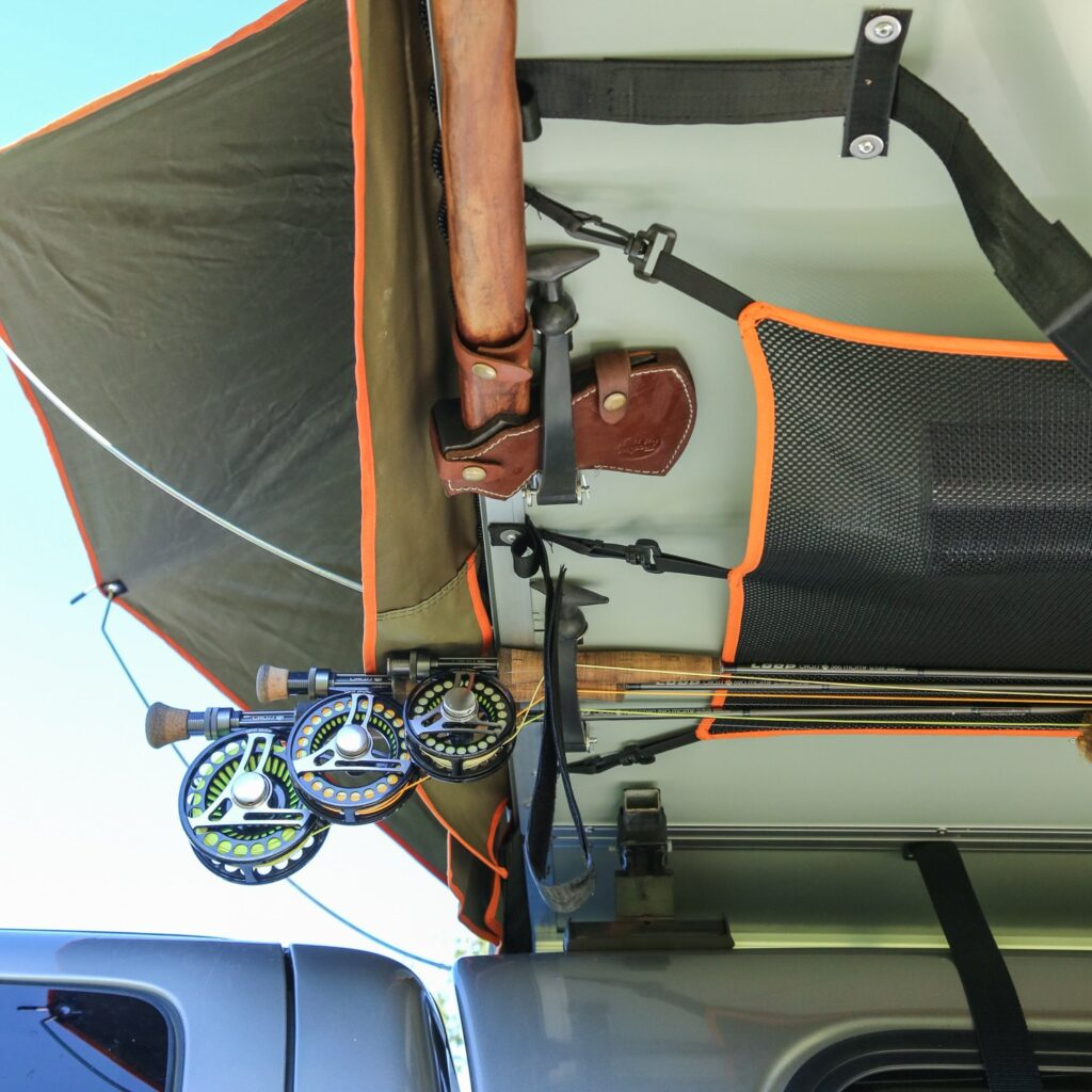 Treeline Under Tent Ceiling Storage Pockets