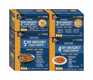 Mountaian House 14 Day Emergency Food Kit - Front