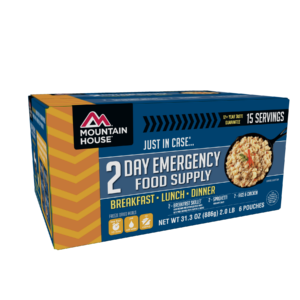 Mountain House 2 Day Emergency Food Kit - Front