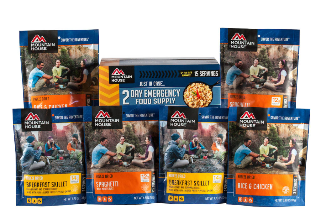 Mountain House 2 Day Emergency Food Kit with Pouches