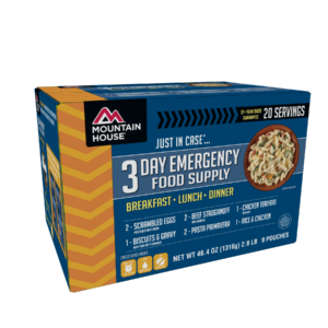 Mountain House 3 Day Emergency Food Kit - Front