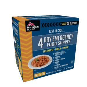 Mountain House 4 Day Emergency Food Kit - Front