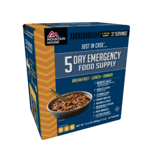 Mountain House 5 Day Emergency Food Kit - Front