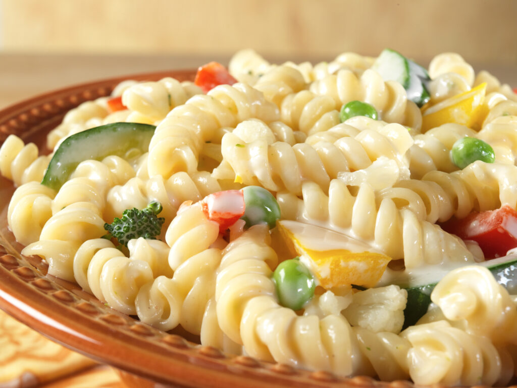 Mountain House Pasta Primavera - Close