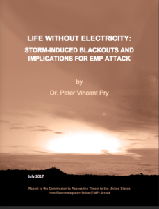 2017 Life With Electricity: Storm-Induced Blackouts and Implication for EMP Attack - Cover Image