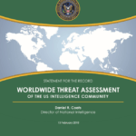 2018 Worldwide Threat Assessment - Cover Image