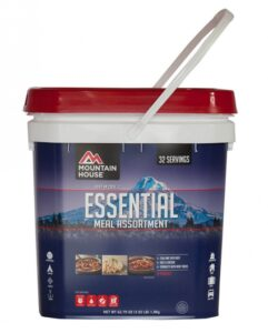 Just in Case Essential Meal Bucket
