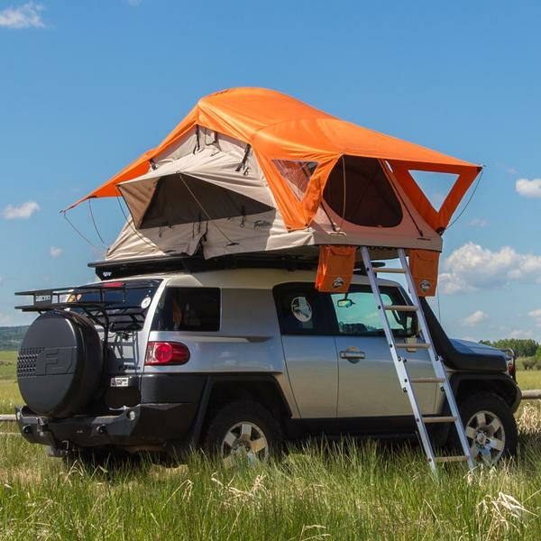 Sandstone Mojave Joshua Tent with Burnt Orange Rainfly