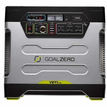 Yeti 1250 Portable Power - Front View