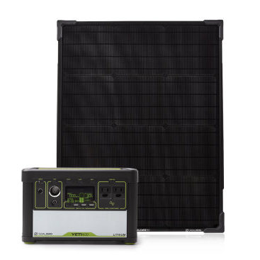 Yeti 400 Lithium PPS + Boulder 50 Solar Panel Kit